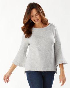 Sparkling Sands Bell-Sleeve Sweatshirt