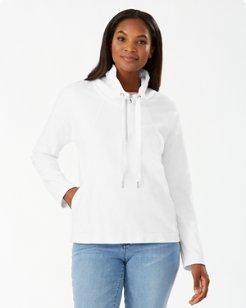Beachy Bay Half-Zip Sweatshirt