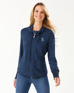 MLB® Shell We Dance Full-Zip Sweatshirt