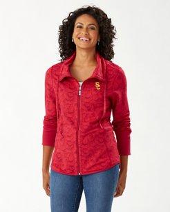 Collegiate Shell We Dance Full-Zip Sweatshirt