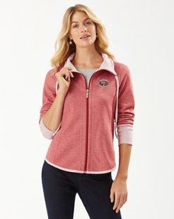 NFL Sun Fade Full Zip Sweatshirt