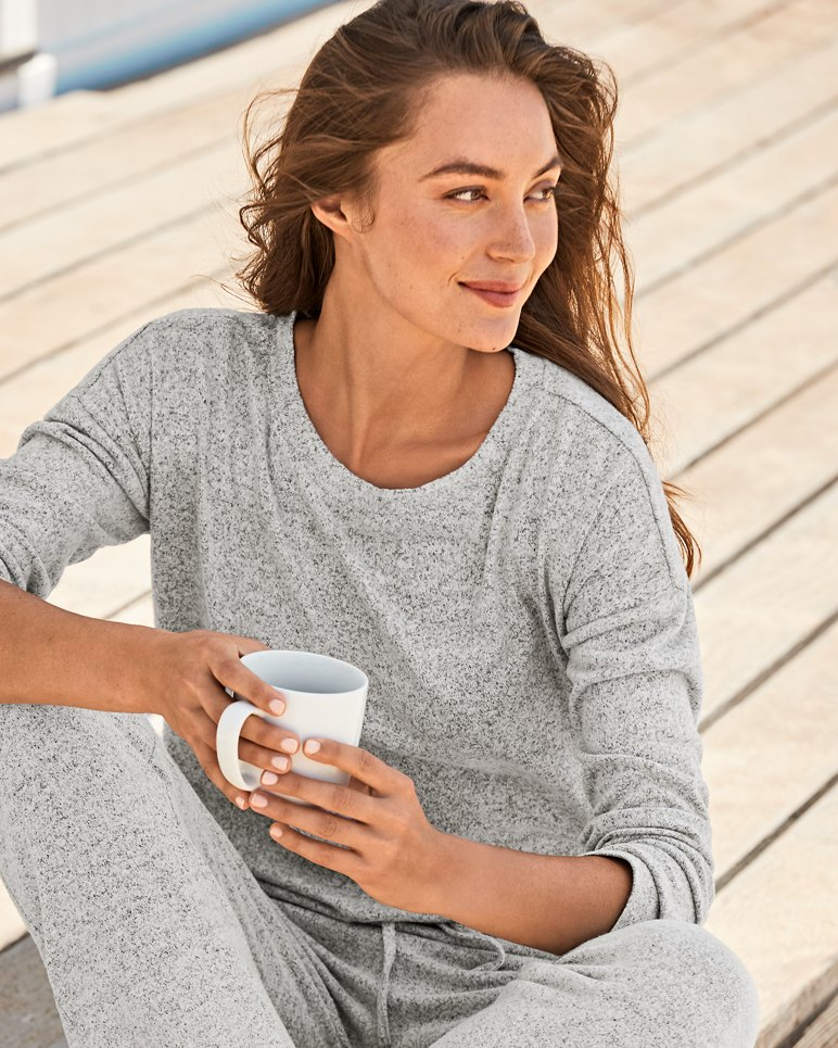 Main Image for Island Soft® Brushed Long-Sleeve Shirt