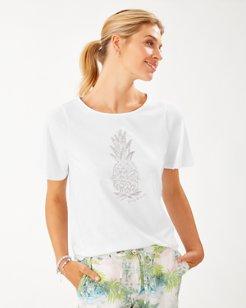 Piña Coolita Flutter-Sleeve T-Shirt