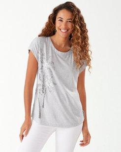 Seaport Foil Palms T-Shirt