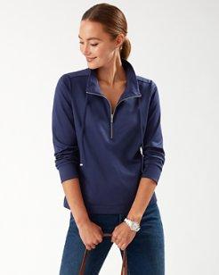 Martinique Half-Zip Sweatshirt
