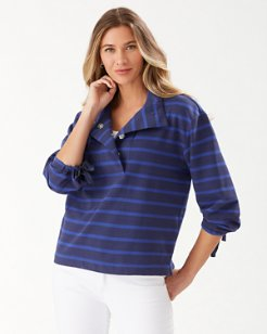 Montego Bay Half-Snap Sweatshirt