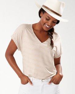Kauai Windswept Stripe T-Shirt