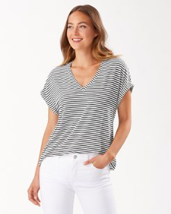 Kauai Windswept Stripe T-Shirt