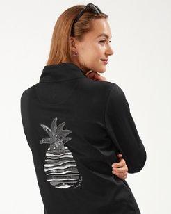 Martinique Pineapple Full-Zip Sweatshirt