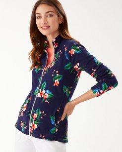 Belleza Garden Aruba Full-Zip Sweatshirt