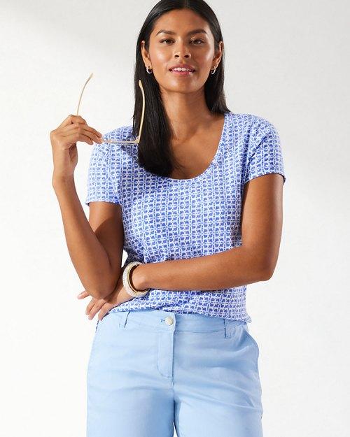 Ashby Tiki Tiles Short-Sleeve T-Shirt