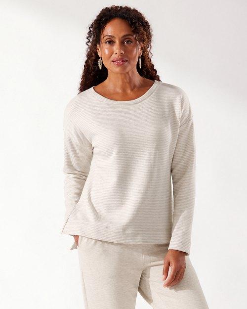 Sea Mist Island Soft® Stripe Popover Shirt
