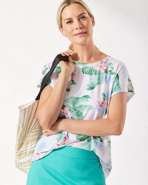Hibiscus & Fronds IslandZone® T-Shirt
