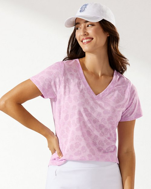 Palm Coast IslandZone® V-Neck T-Shirt
