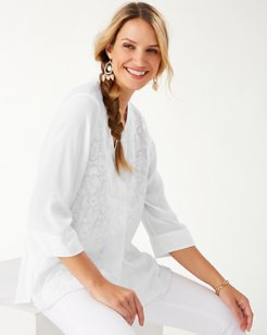 A Vine Frenzy Embroidered Tunic