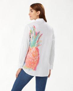 Punjab Pineapple Cotton Shirt