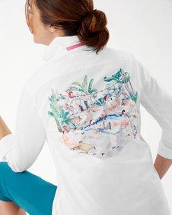 Flamingo Panelback Shirt