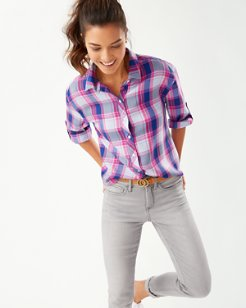 Sombra Plaid Shirt