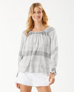 Lucia Isle Stripe Long-Sleeve Top