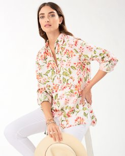 Coastalina Petal Of Honor Linen Shirt