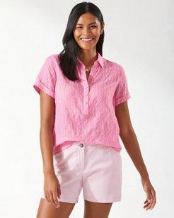Sandswept Stripe Short-Sleeve Shirt