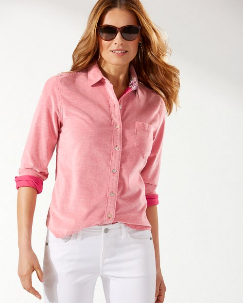 Coasta Cord Long-Sleeve Shirt