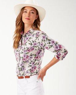 Kalahari Blooms Corduroy Shirt