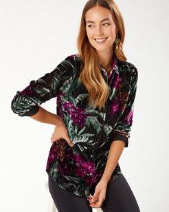 Velvet Sands Oceanic Orchid Shirt