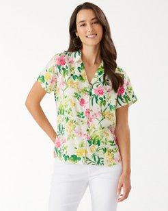 Bay Of Blooms Talulla Camp Shirt