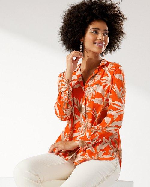 Exotic Tropic Tove Silk Shirt