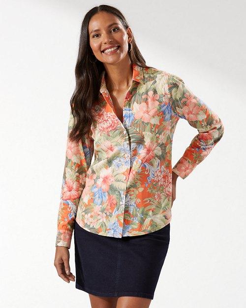 Royal Botanic Stretch-Cotton Shirt