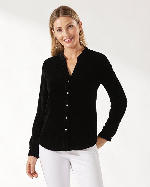 Velvet Sands Long-Sleeve Shirt