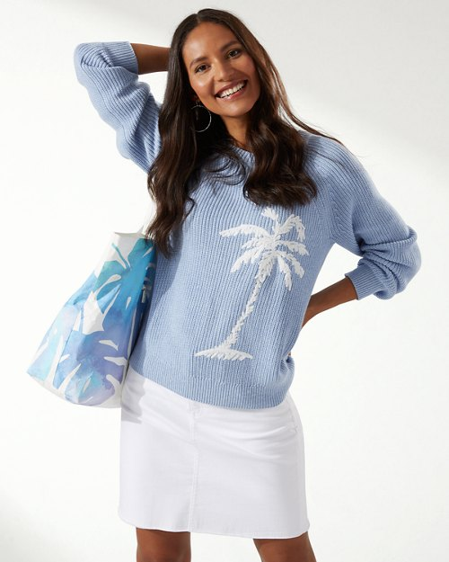 Breezy Palm Crew Pullover