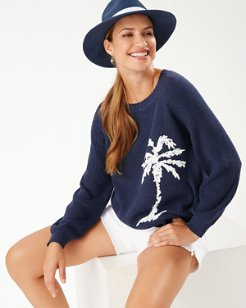 Breezy Palm Crew Pullover