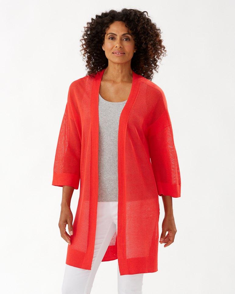 Main Image for Rhea Linen-Blend Cardigan