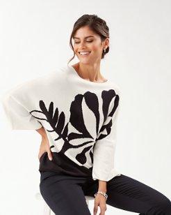 Hibiscus Hideaway Sweater
