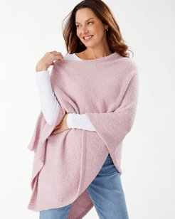 Island Soft® Sweater Poncho
