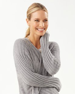 Island Soft® Waterfall Rib Cardigan