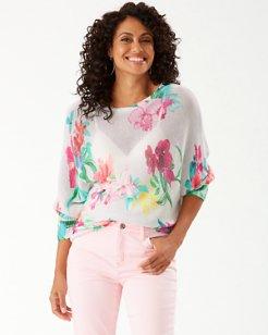 Rosalia Floral Dolman Sweater