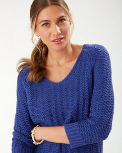 Belle Haven V-Neck Sweater