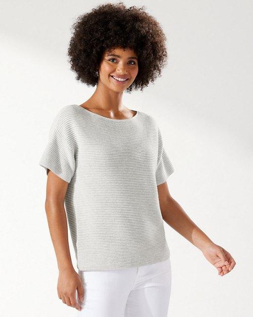 Bonita Ottoman Short-Sleeve Sweater
