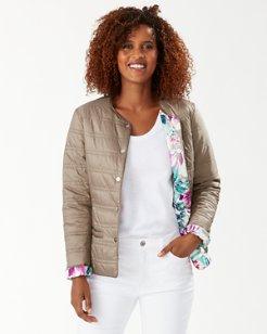 Hermosa Reversible Puffer Jacket