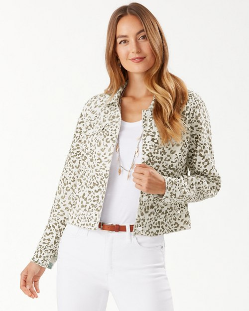 Two Palms Wild One Linen Jacket