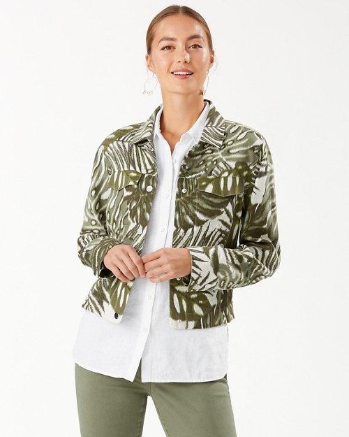 Safari Bliss Linen Jacket