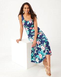 Floristic Approach Midi Dress