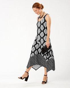 Taj Tiles Maxi Dress