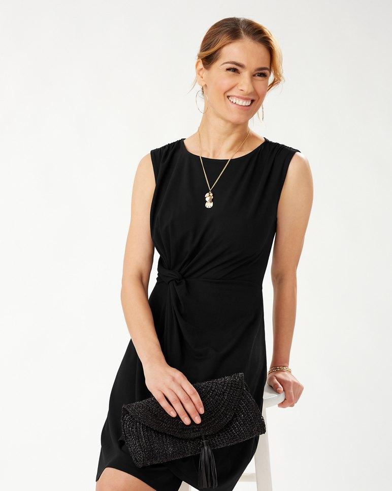 Main Image for Paradisa Sleeveless Side-Twist Dress