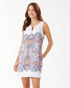 Brilliant Bazaar Linen Shift Dress