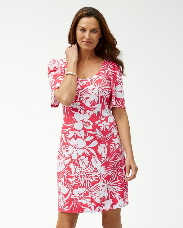 Main Image for Buona Sera Tambour Flounce-Sleeve Dress
