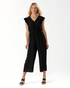 Oasis Waves Gauze Jumpsuit